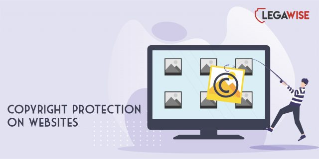 Copyright protection on websites